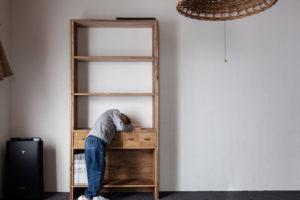 過去に作った棚をリメイクしました